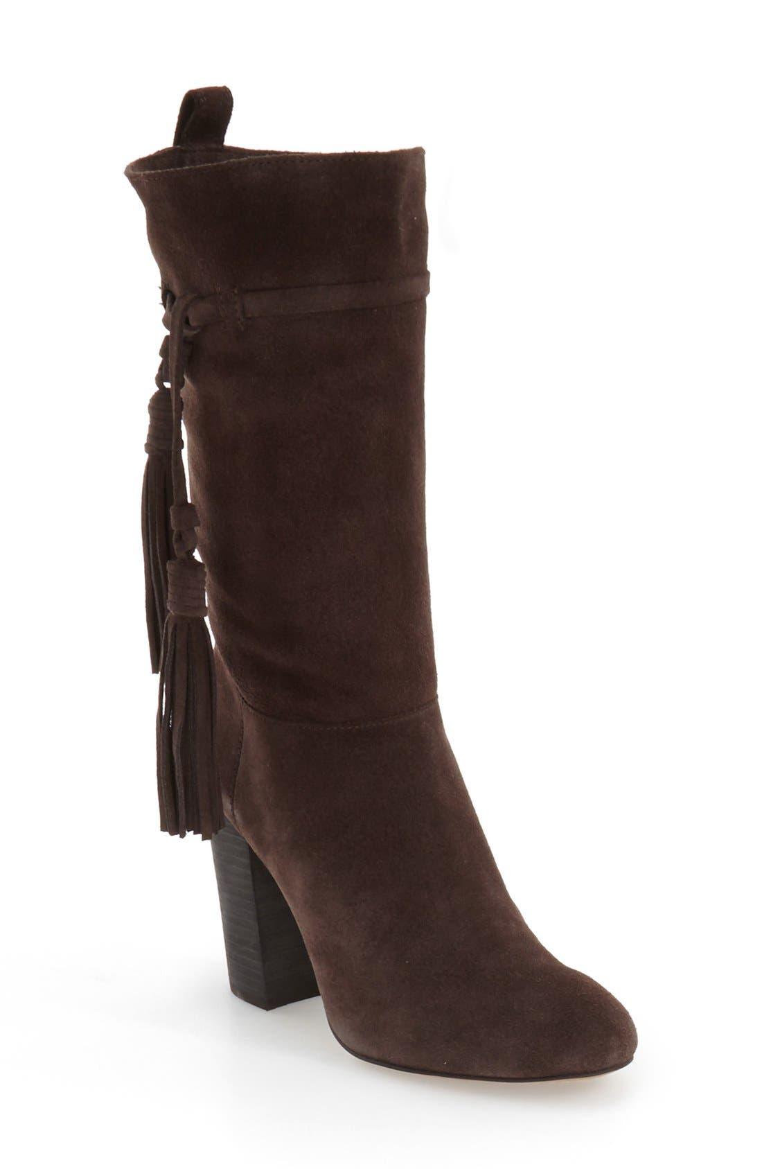 Alternate Image 1 Selected - Vince Camuto 'Fermel' Slouch Tassel Boot (Women)