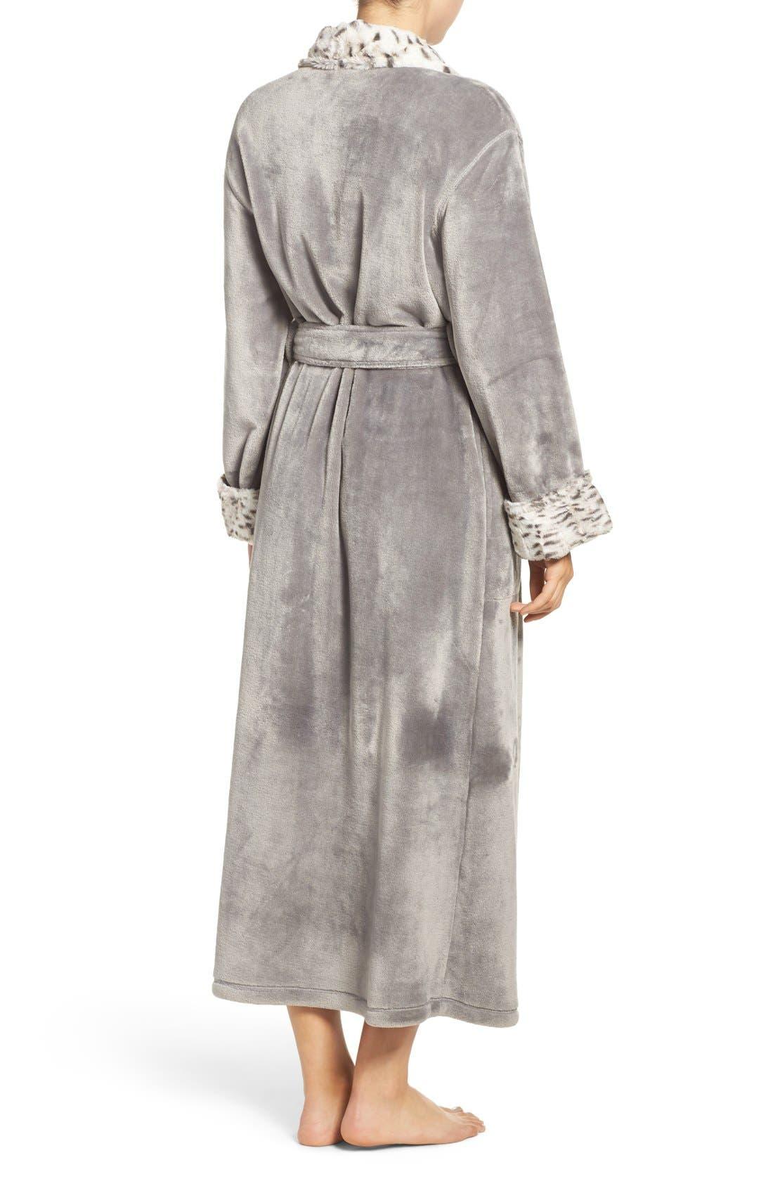 Alternate Image 2  - Natori Fleece Robe