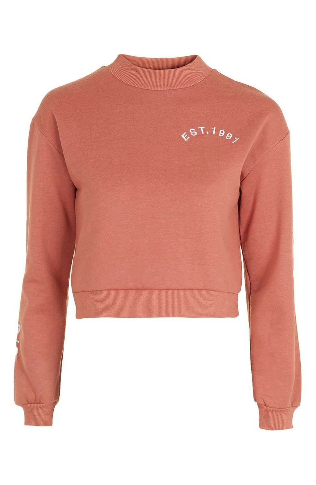 Alternate Image 4  - Topshop The End Sweatshirt