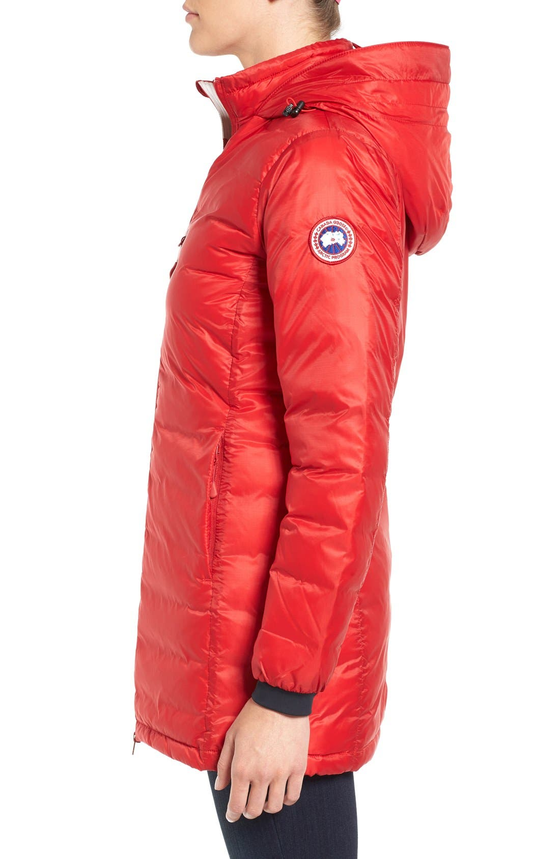 Alternate Image 4  - Canada Goose 'Camp' Slim Fit Hooded Packable Down Jacket