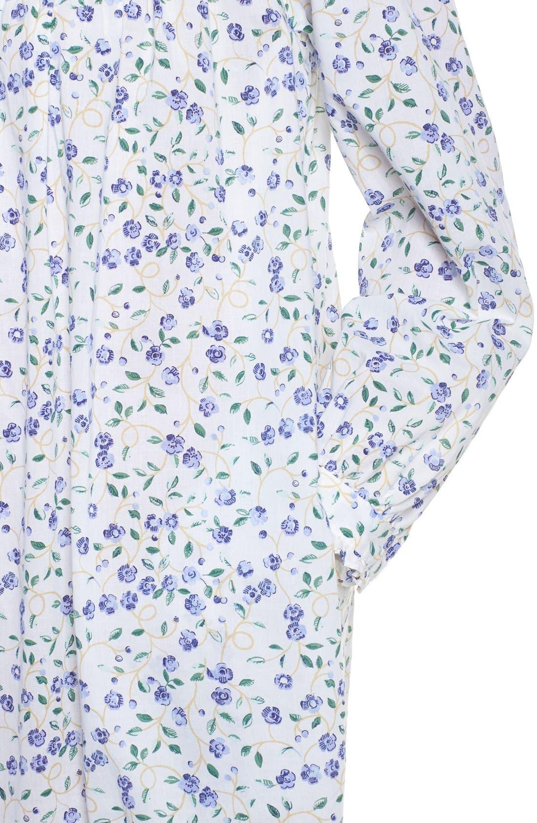Alternate Image 4  - Elileen West Cotton Nightgown