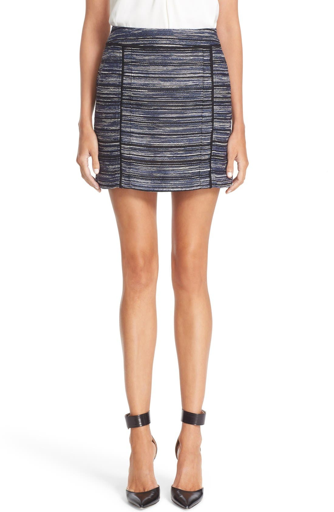 JASON WU Textured Miniskirt