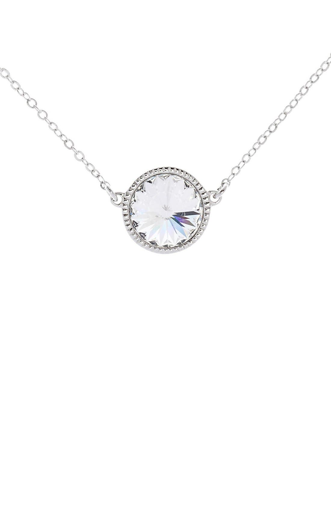 Ted Baker London Rainia Crystal Pendant Necklace