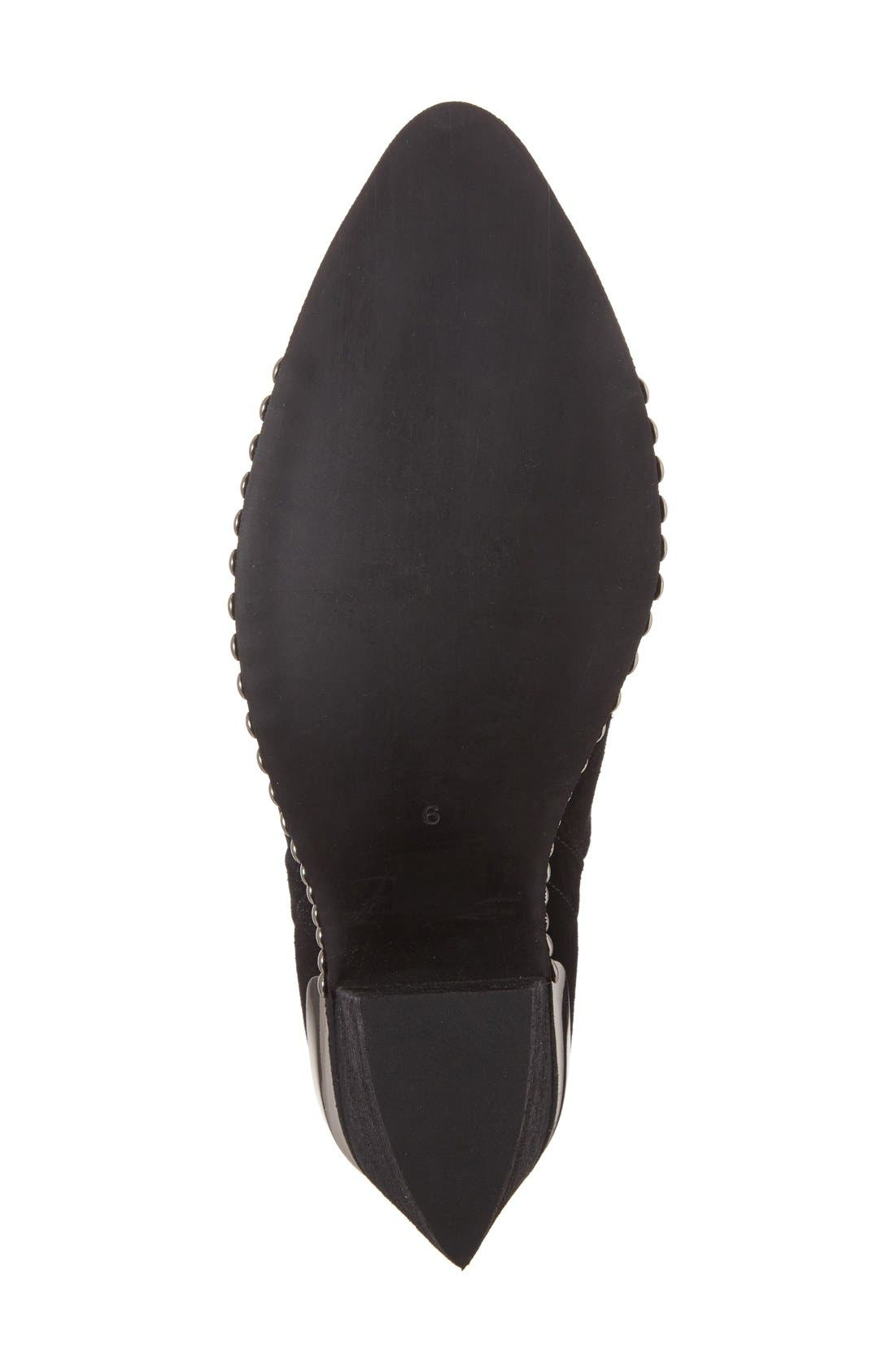 Alternate Image 4  - Jeffrey Campbell Optimum Pointy Toe Bootie (Women)