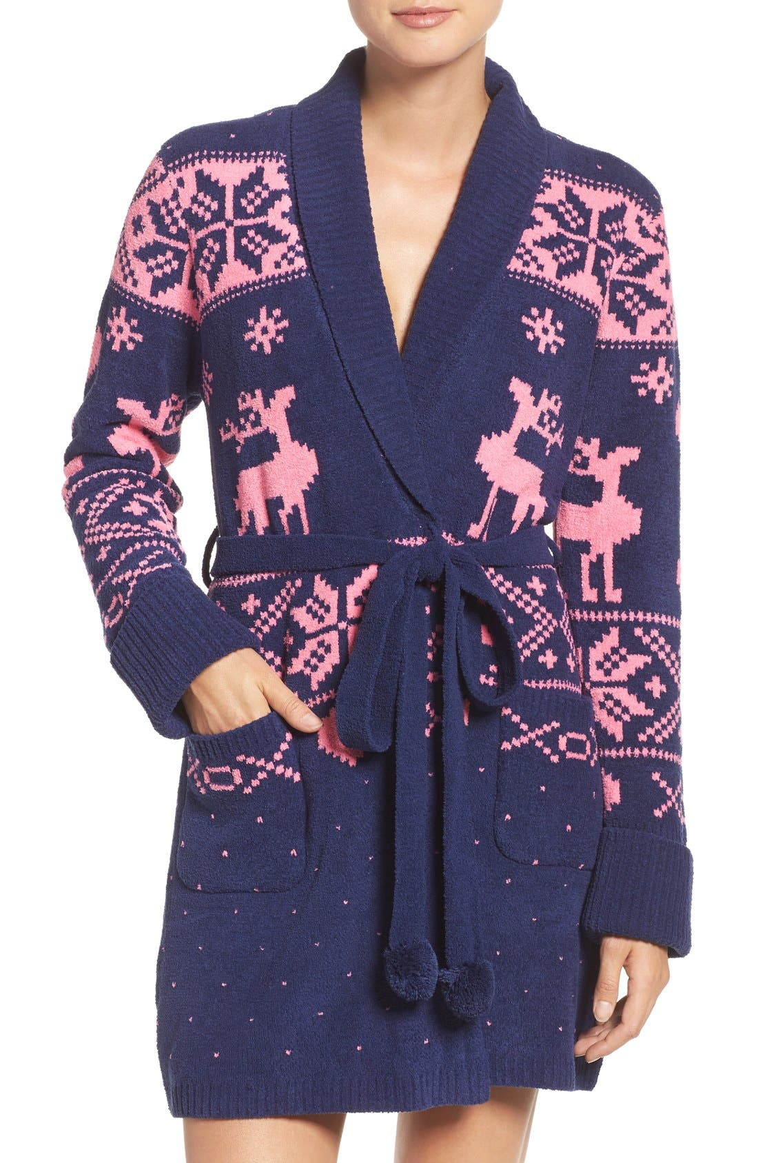 Alternate Image 1 Selected - Betsey Johnson Sweater Robe
