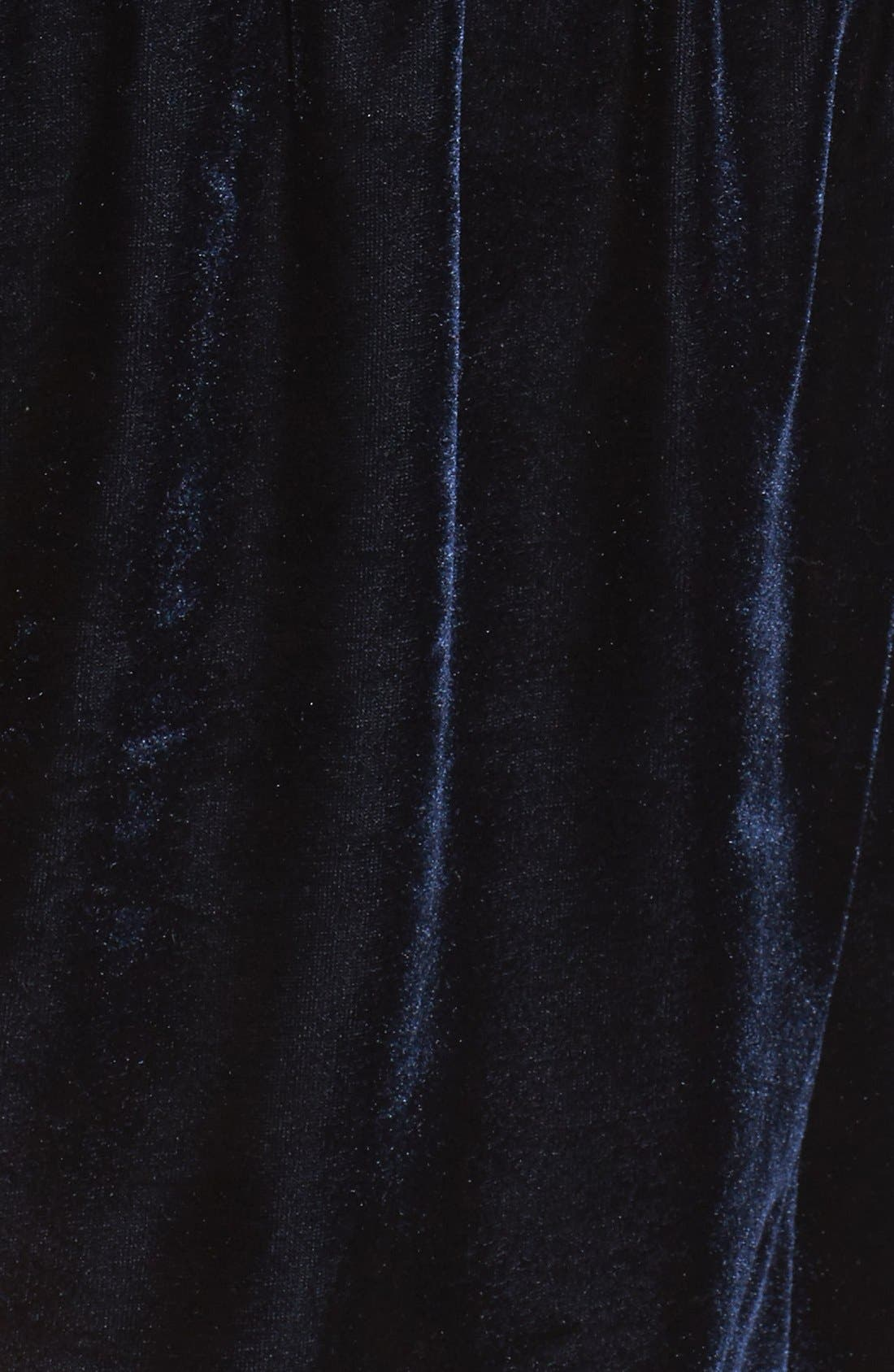 Alternate Image 5  - One Clothing Surplice Velvet Romper