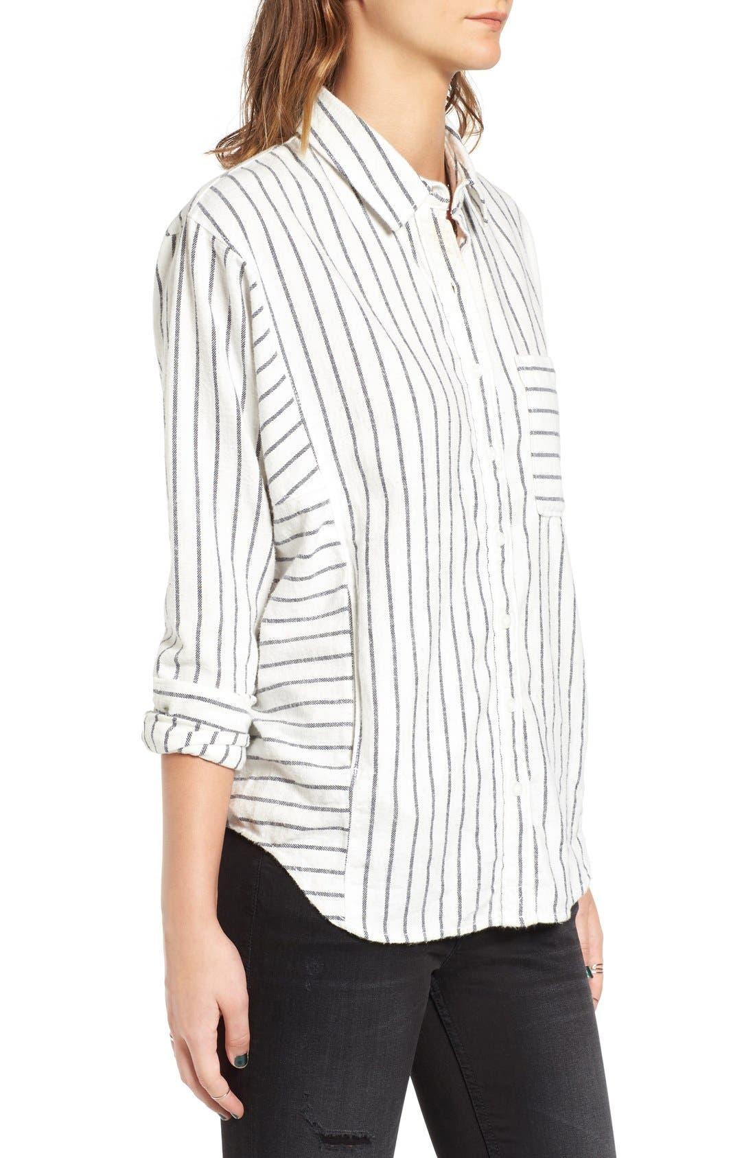 Alternate Image 3  - BP. Stripe Flannel Shirt