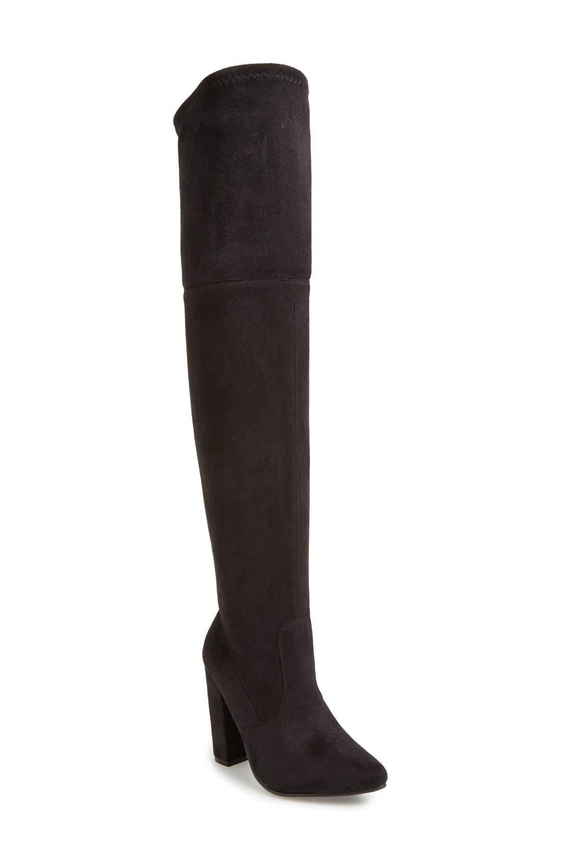 Alternate Image 1 Selected - Steve Madden 'Rocking' Over the Knee Boot (Women)