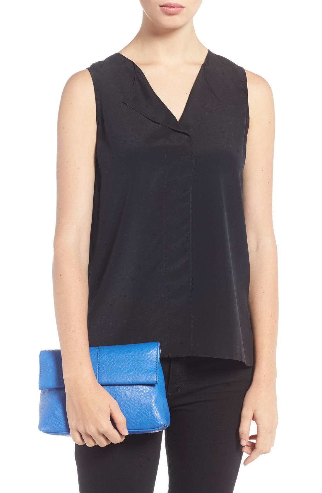 Alternate Image 2  - POVERTY FLATS by rian Faux Leather Convertible Crossbody Bag
