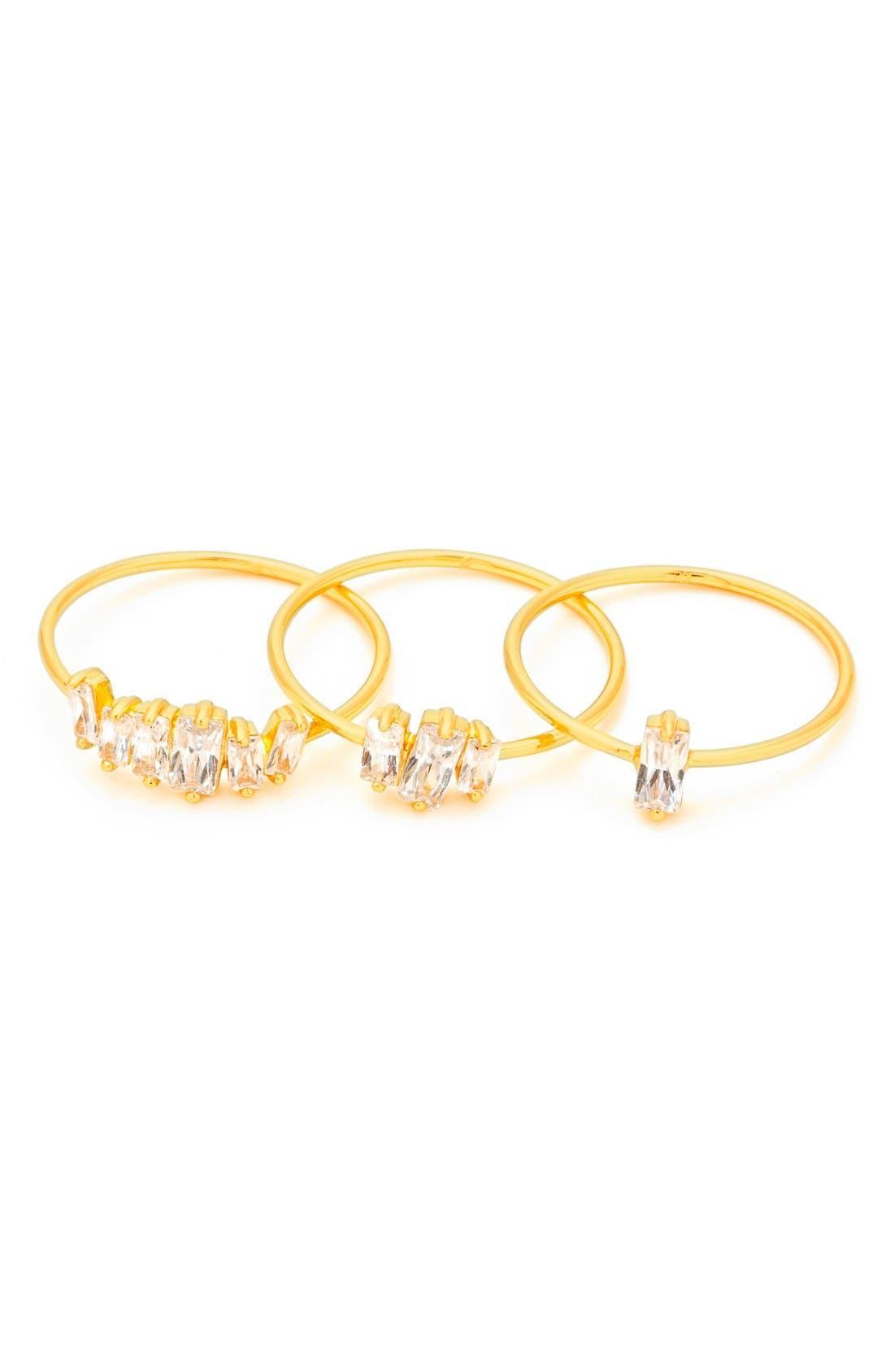 gorjana Amara Set of Three Stacking Rings