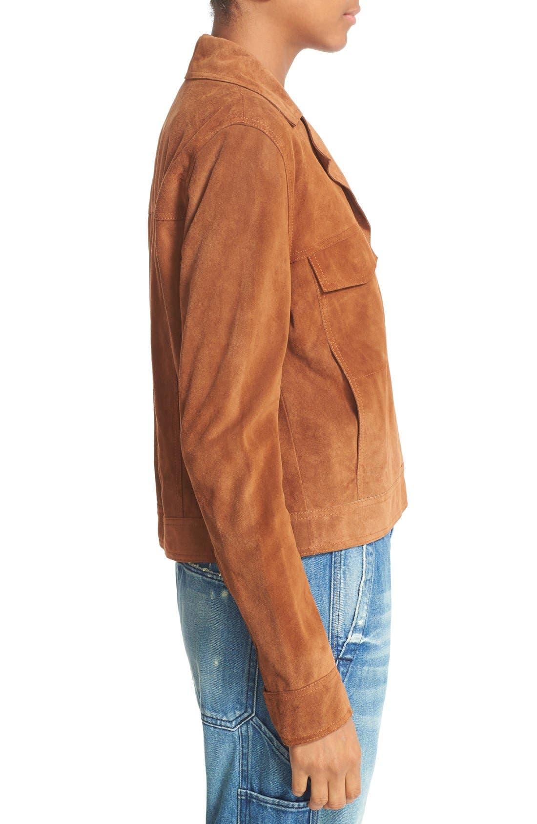 Alternate Image 4  - Vince Suede Jean Moto Jacket