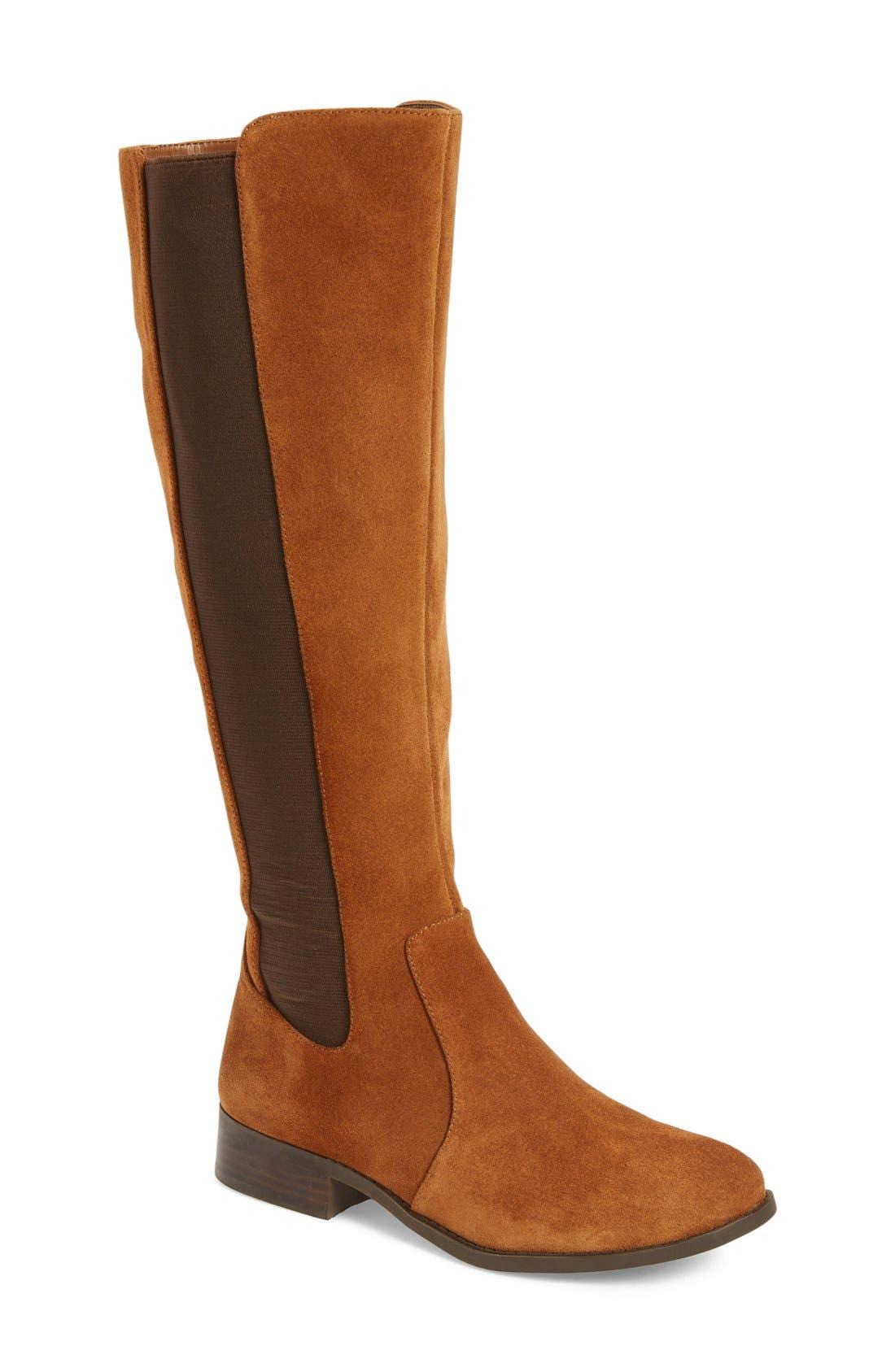 Alternate Image 1 Selected - Jessica Simpson 'Ricel' Riding Boot (Women) (Regular & Wide Calf)