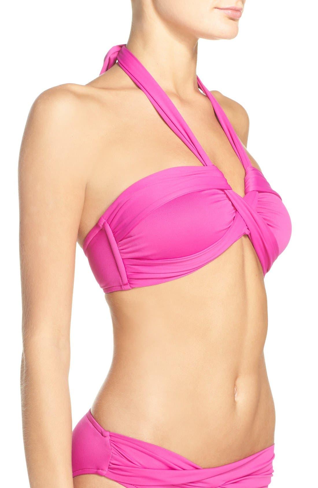 Alternate Image 3  - Seafolly Halter Bikini Top