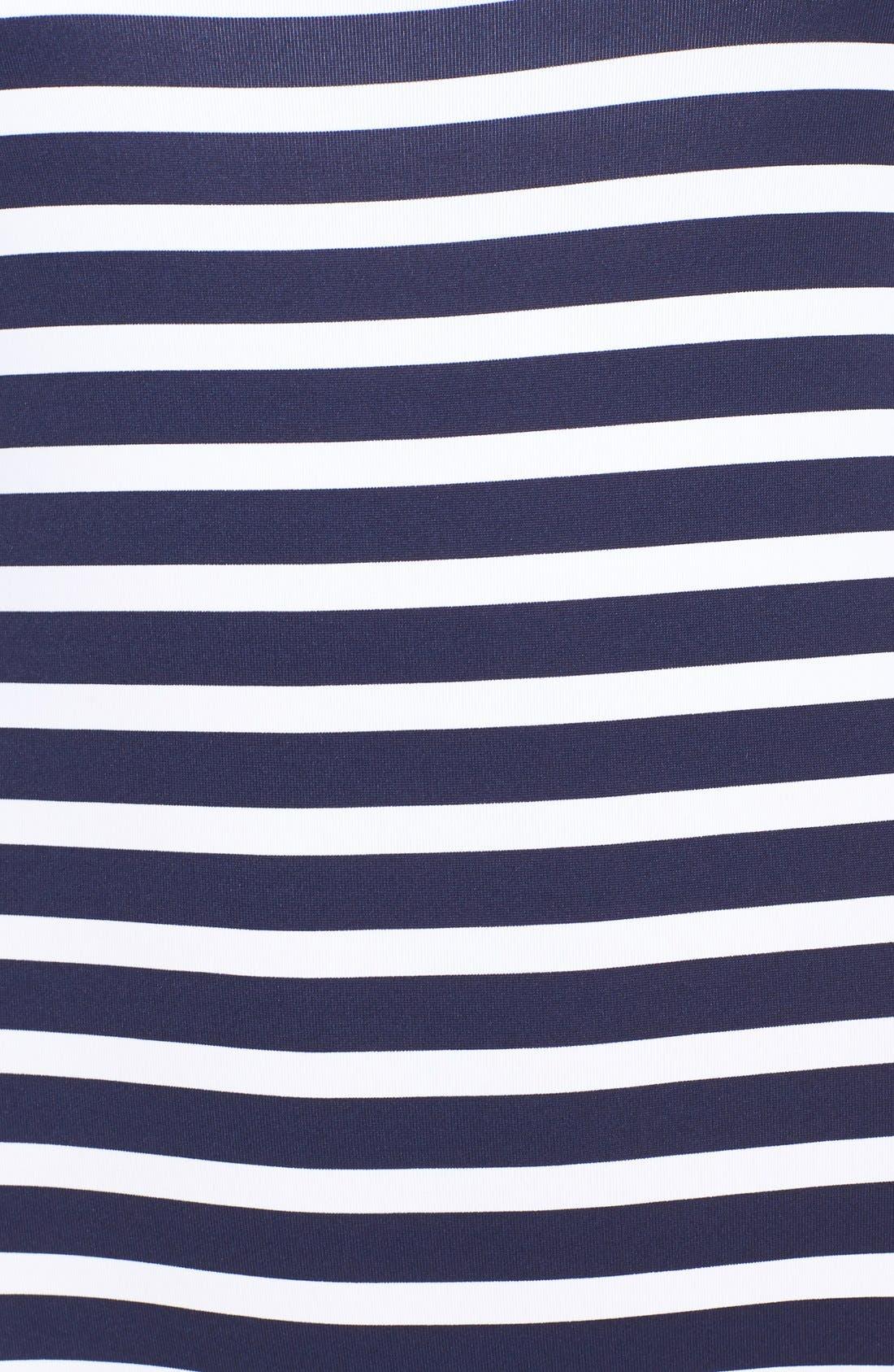 Alternate Image 5  - Tommy Bahama Breton Stripe One-Piece Swimsuit