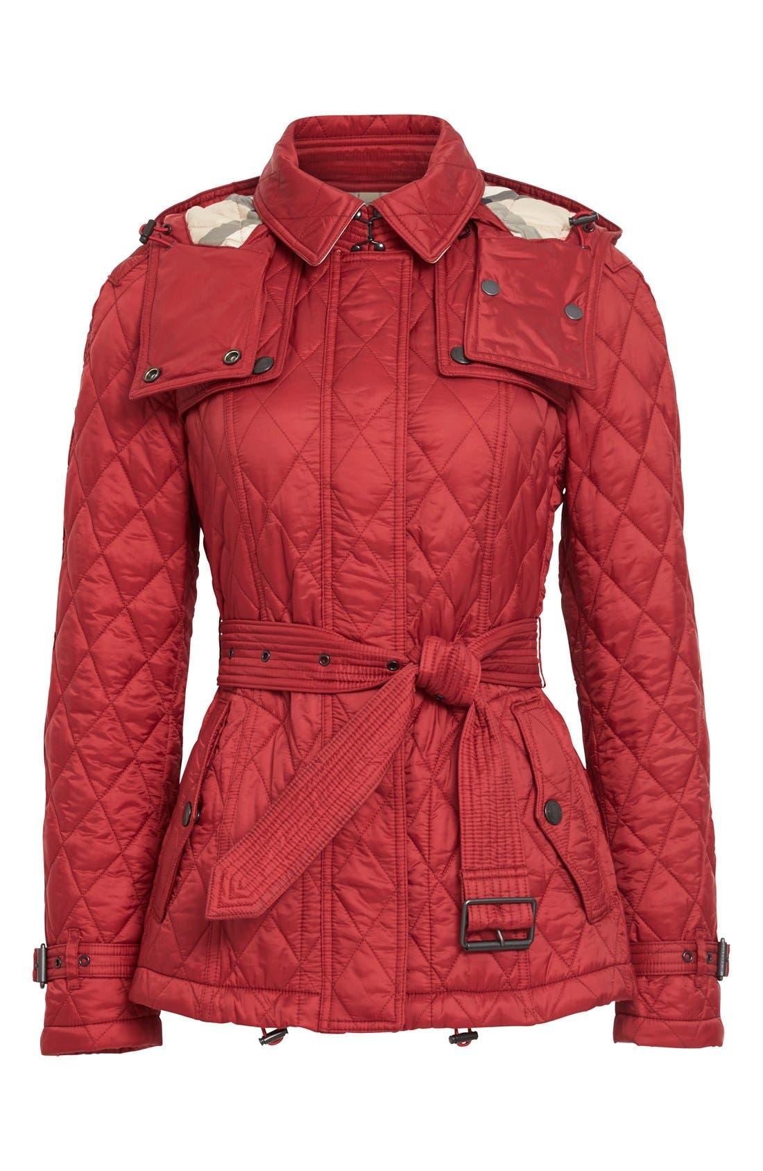 Alternate Image 4  - Burberry Finsbridge ShortQuilted Jacket