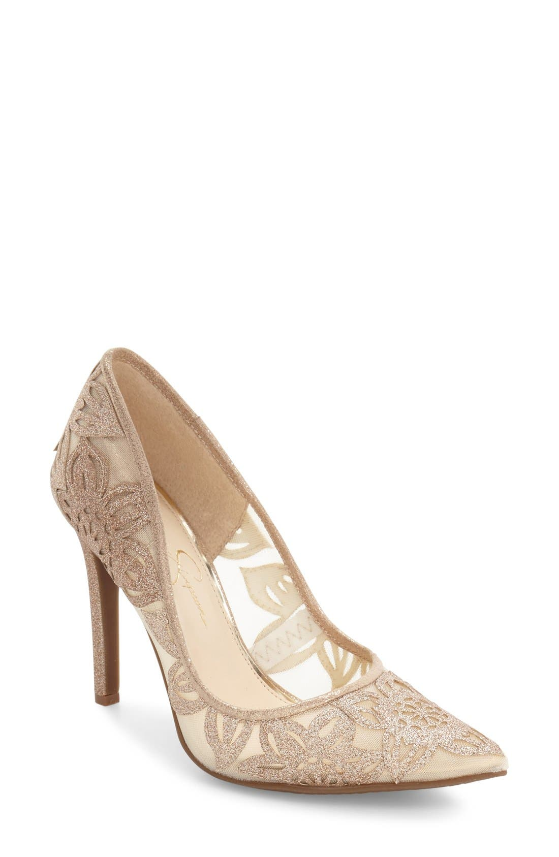 JESSICA SIMPSON Charese Pointy Toe Pump