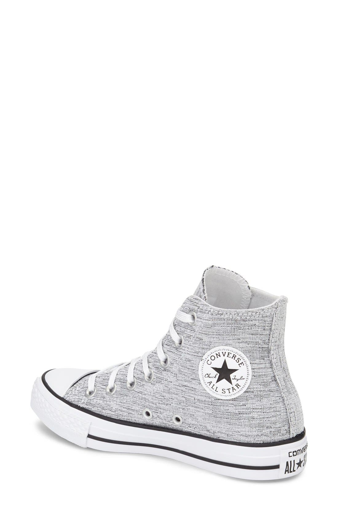 Alternate Image 2  - Converse Chuck Taylor® All Star® Knit High Top Sneaker (Women)