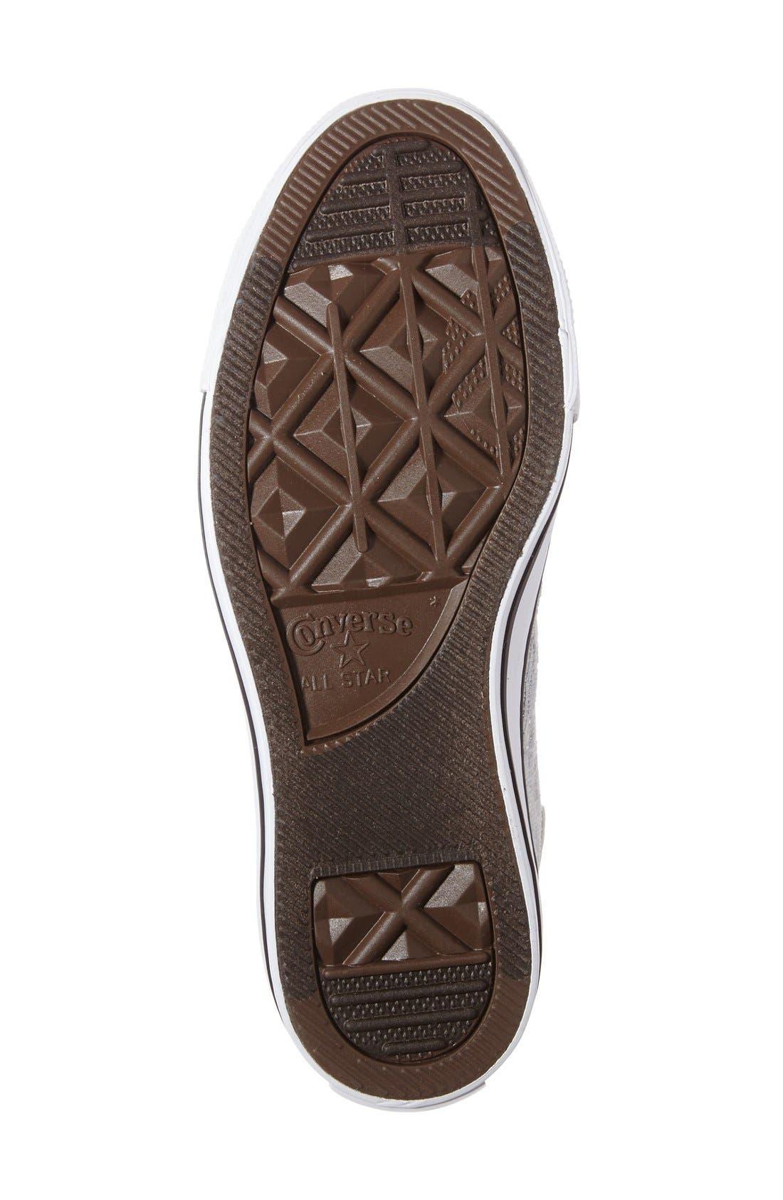 Alternate Image 4  - Converse Chuck Taylor® All Star® Knit High Top Sneaker (Women)