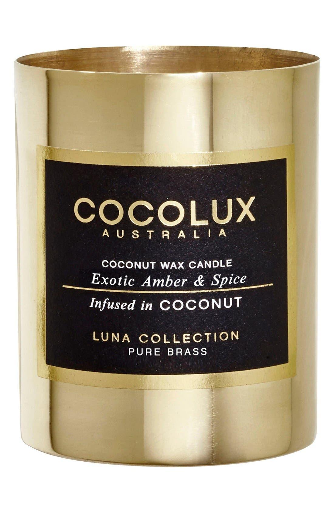 COCOLUX AUSTRALIA Exotic Amber & Spice Small Brass