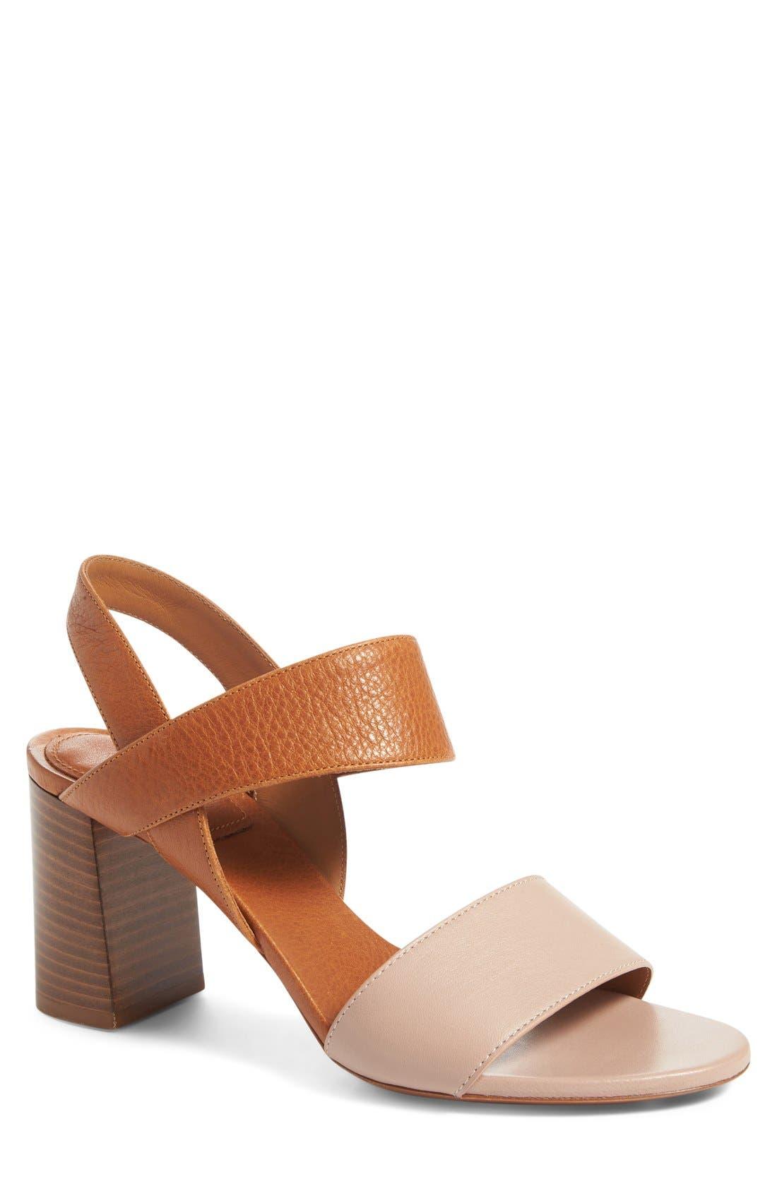 Alternate Image 1 Selected - Chloé Mia Block Heel Sandal (Women)