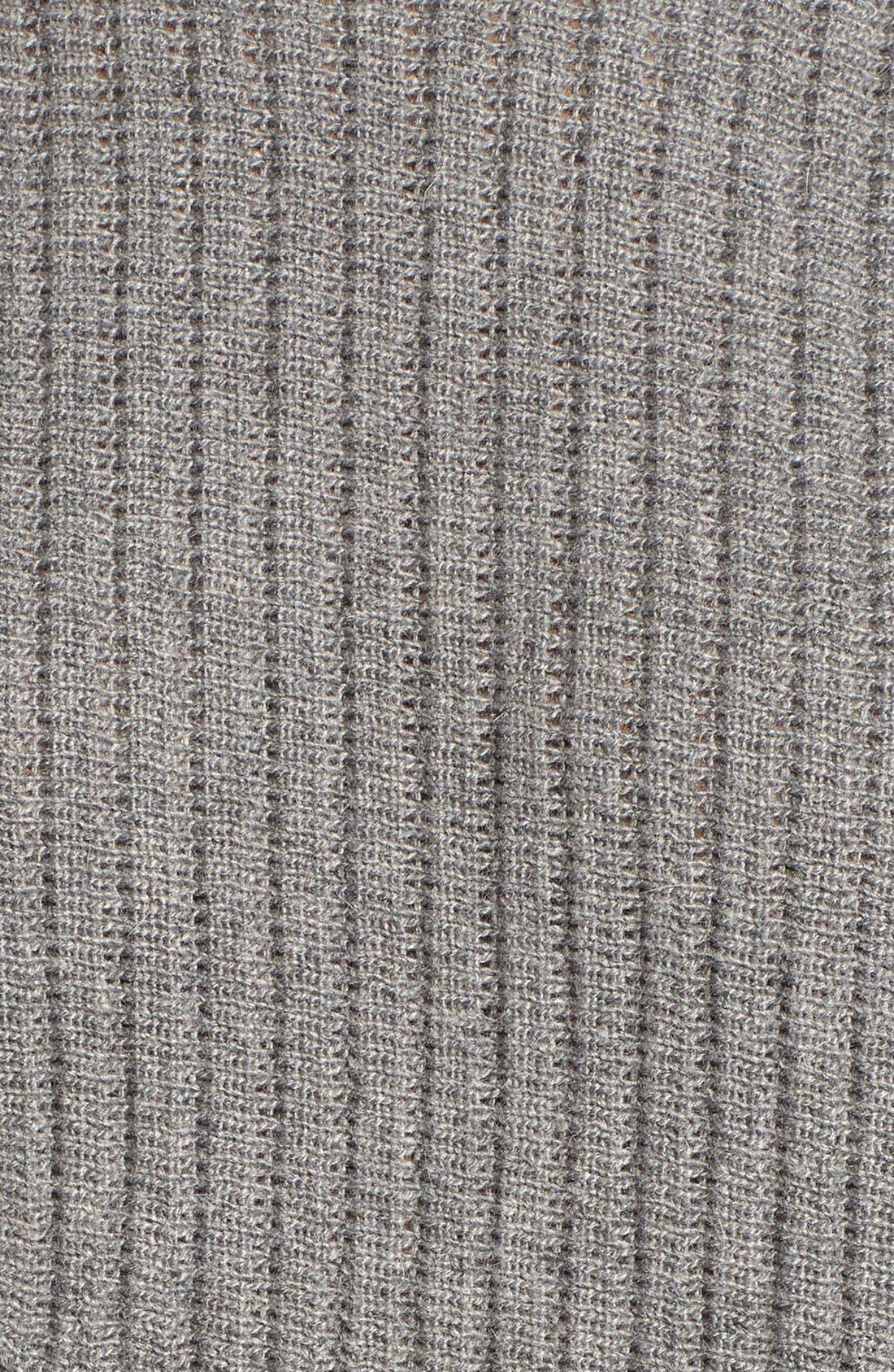 Alternate Image 5  - ASTR Ribbed Sweater Dress