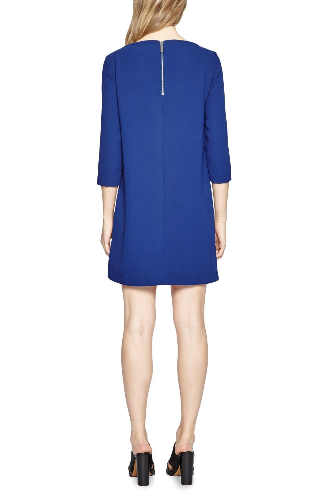 Alternate Image 2  - French Connection Arrow Crepe Shift Dress