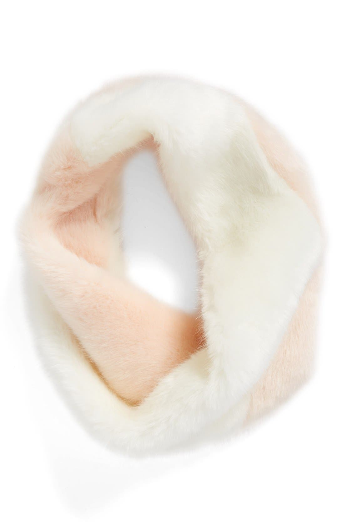 Alternate Image 1 Selected - Leith Faux Fur Snood