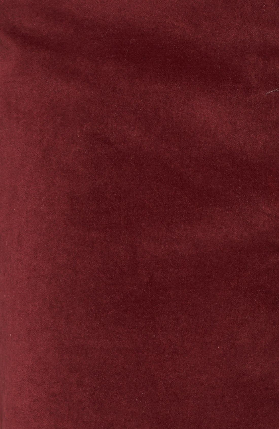Alternate Image 5  - Madewell Zip Front A-Line Miniskirt