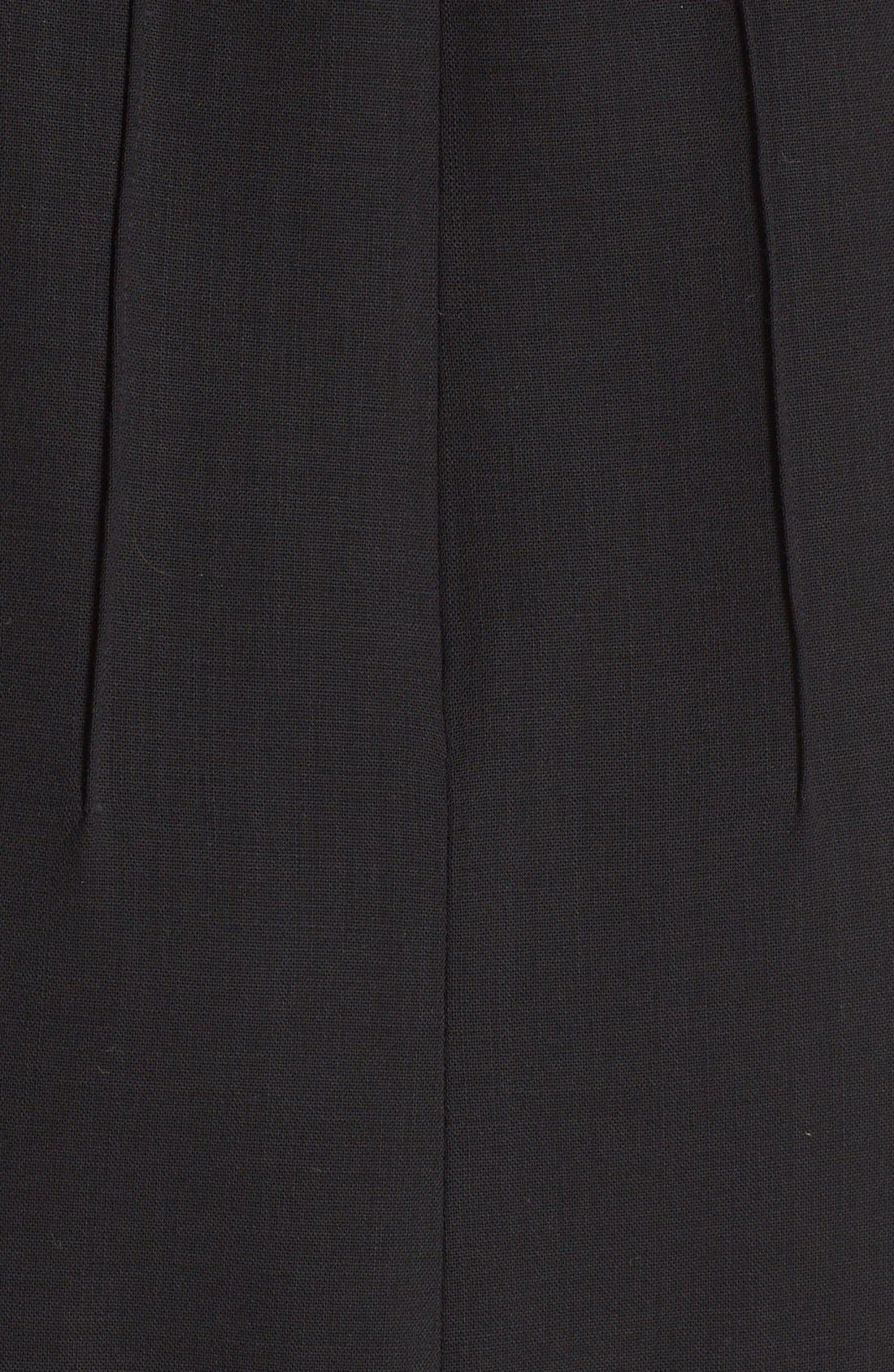Alternate Image 3  - Lafayette 148 New York Debra Luxe Italian Double Face Dress