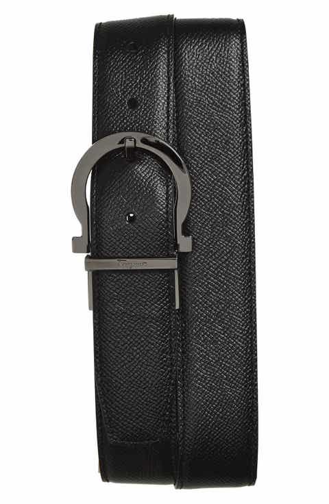 Salvatore Ferragamo Reversible Leather Belt