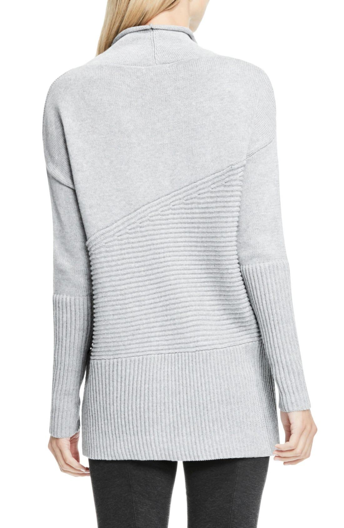 Alternate Image 3  - Vince Camuto Rib Knit Turtleneck Sweater (Regular & Petite)