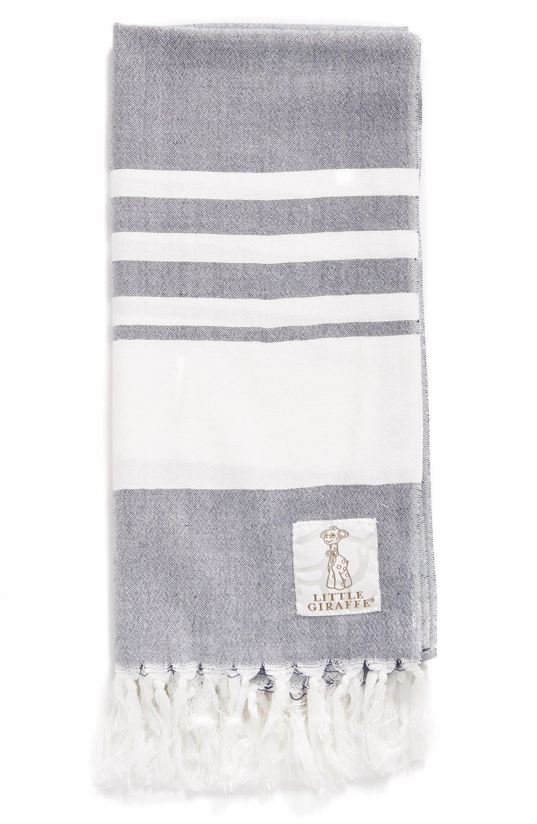 Little Giraffe Indigo™ Turkish Towel (Baby)