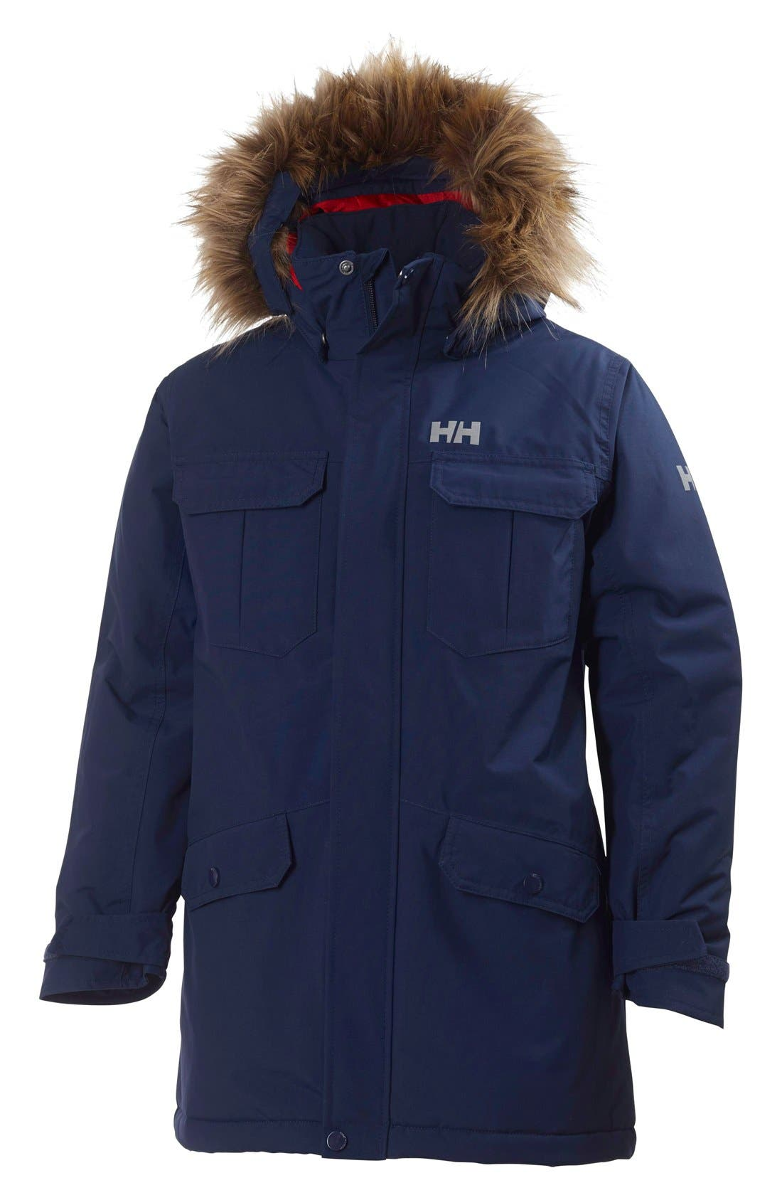 Alternate Image 1 Selected - Helly Hansen 'Jr. Legacy' Parka (Big Boys)