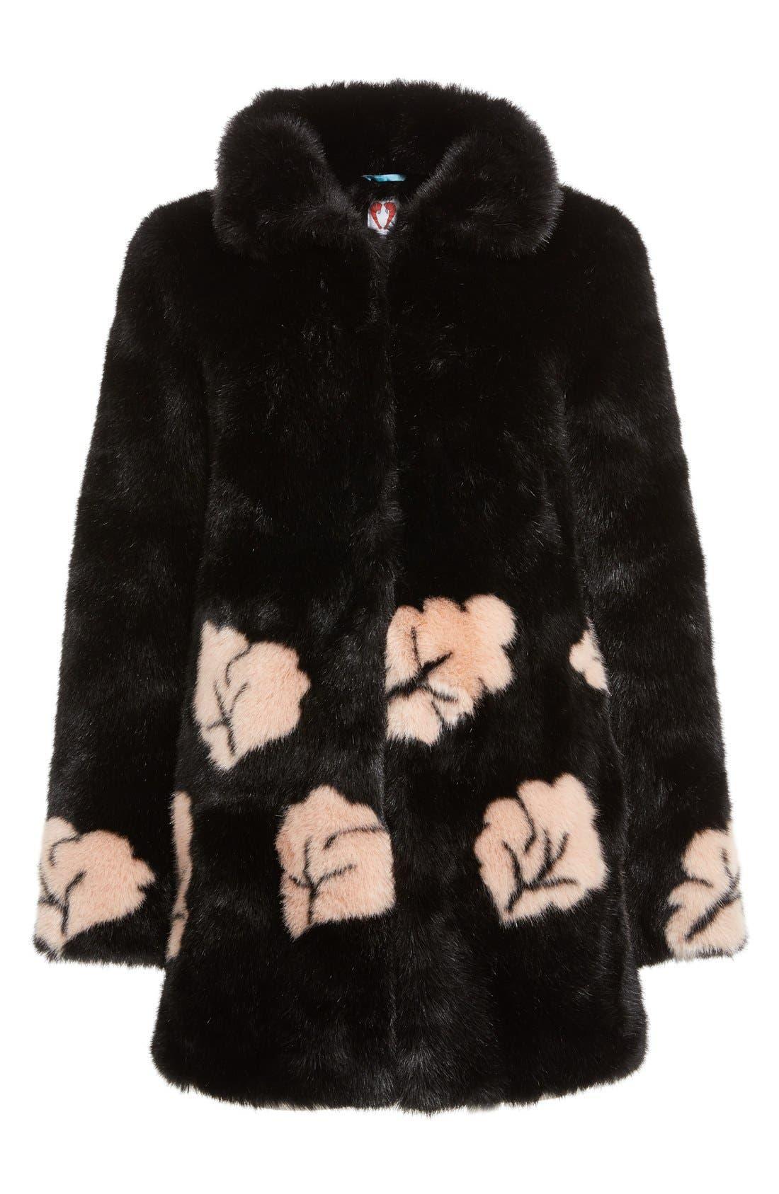 Alternate Image 4  - Shrimps Margery Faux Fur Coat
