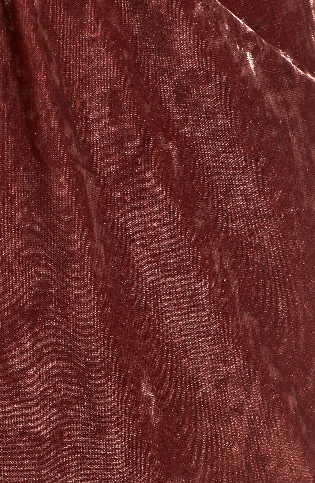 Alternate Image 5  - ASTR Loretta Velvet Romper