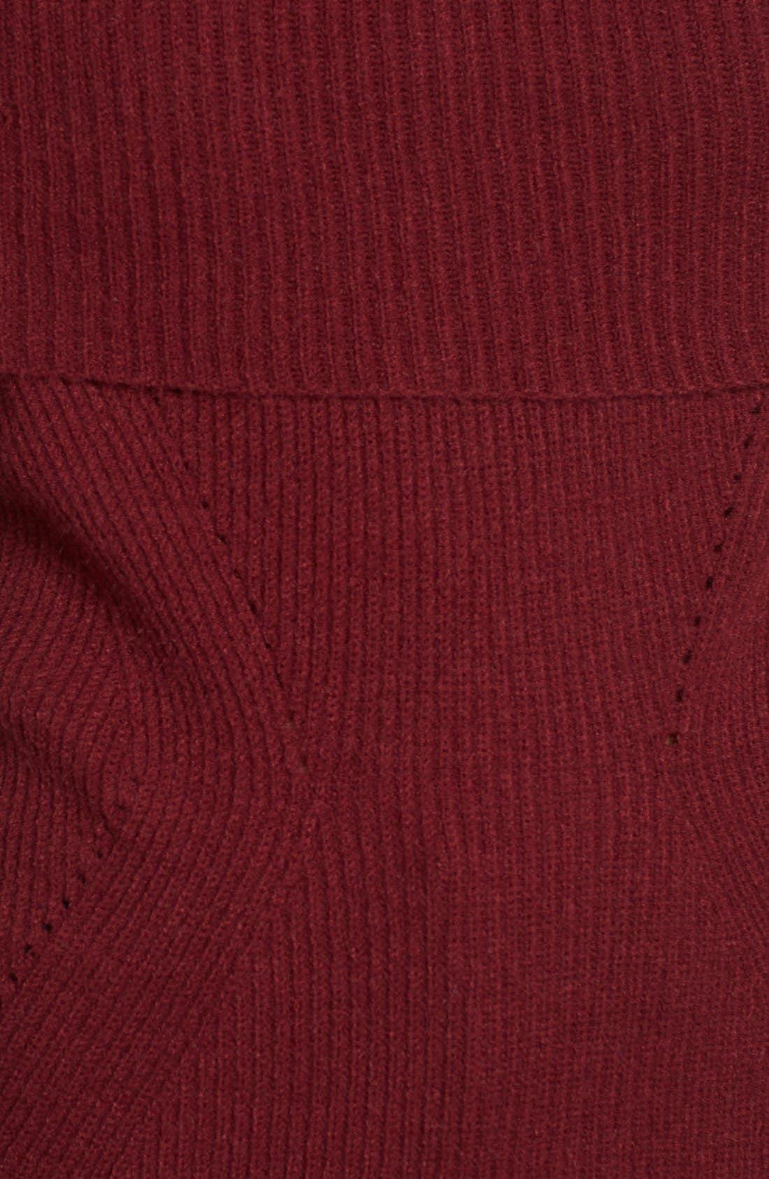 Alternate Image 5  - Love by Design Off the Shoulder Rib Knit Sweater