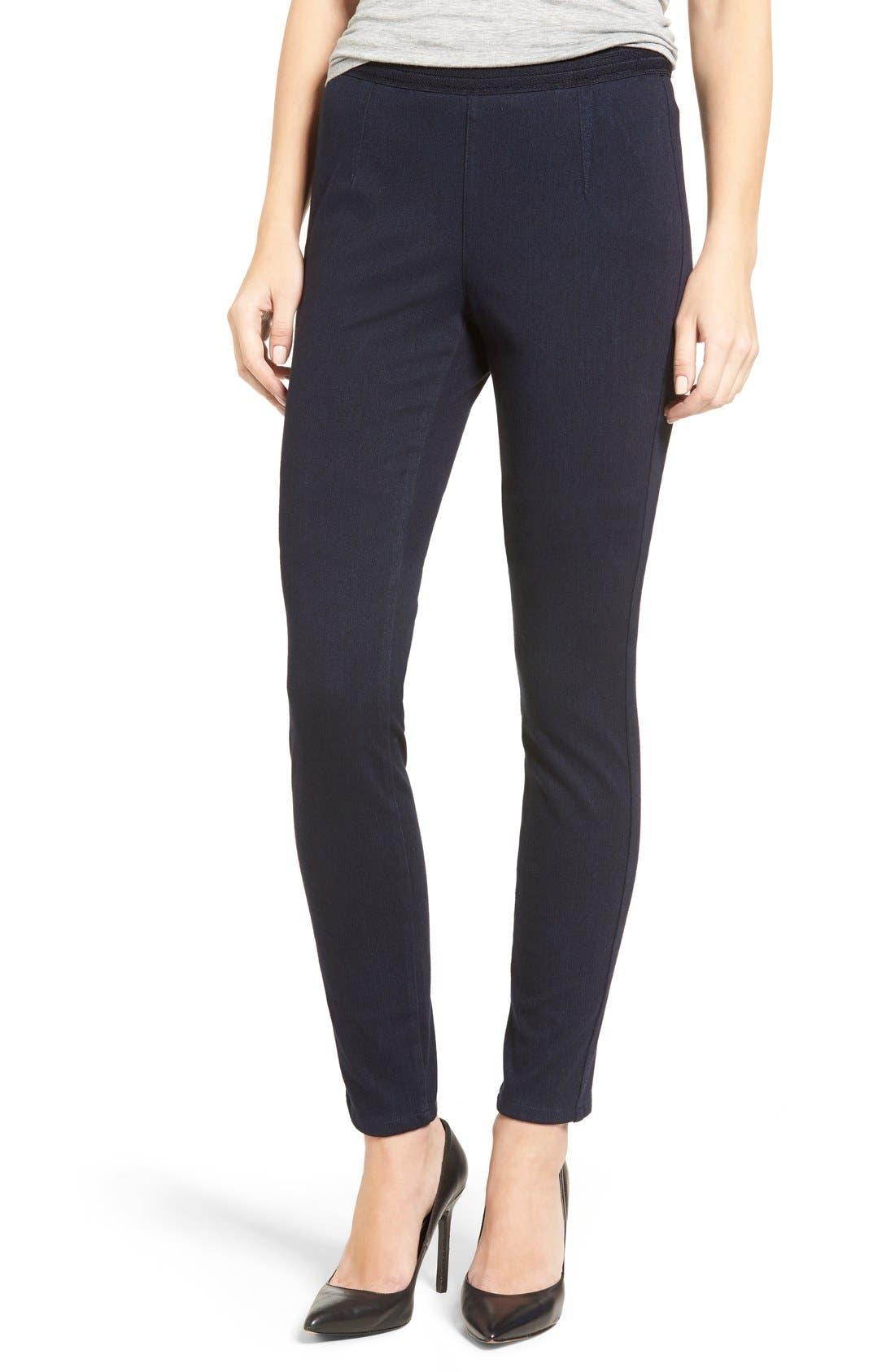 NYDJ Joanie Stretch Denim Leggings (Oslo) (Regular & Petite)