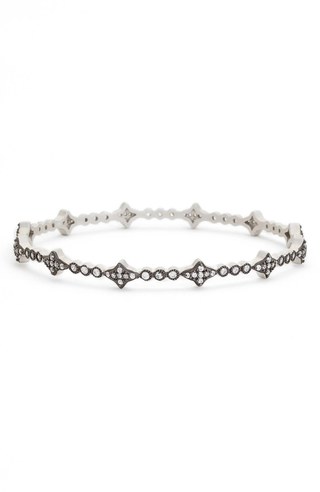 FREIDA ROTHMAN Thin Cubic Zirconia Bangle