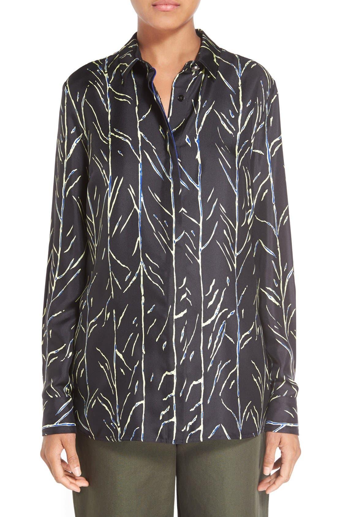 PROENZA SCHOULER Print Silk Shirt