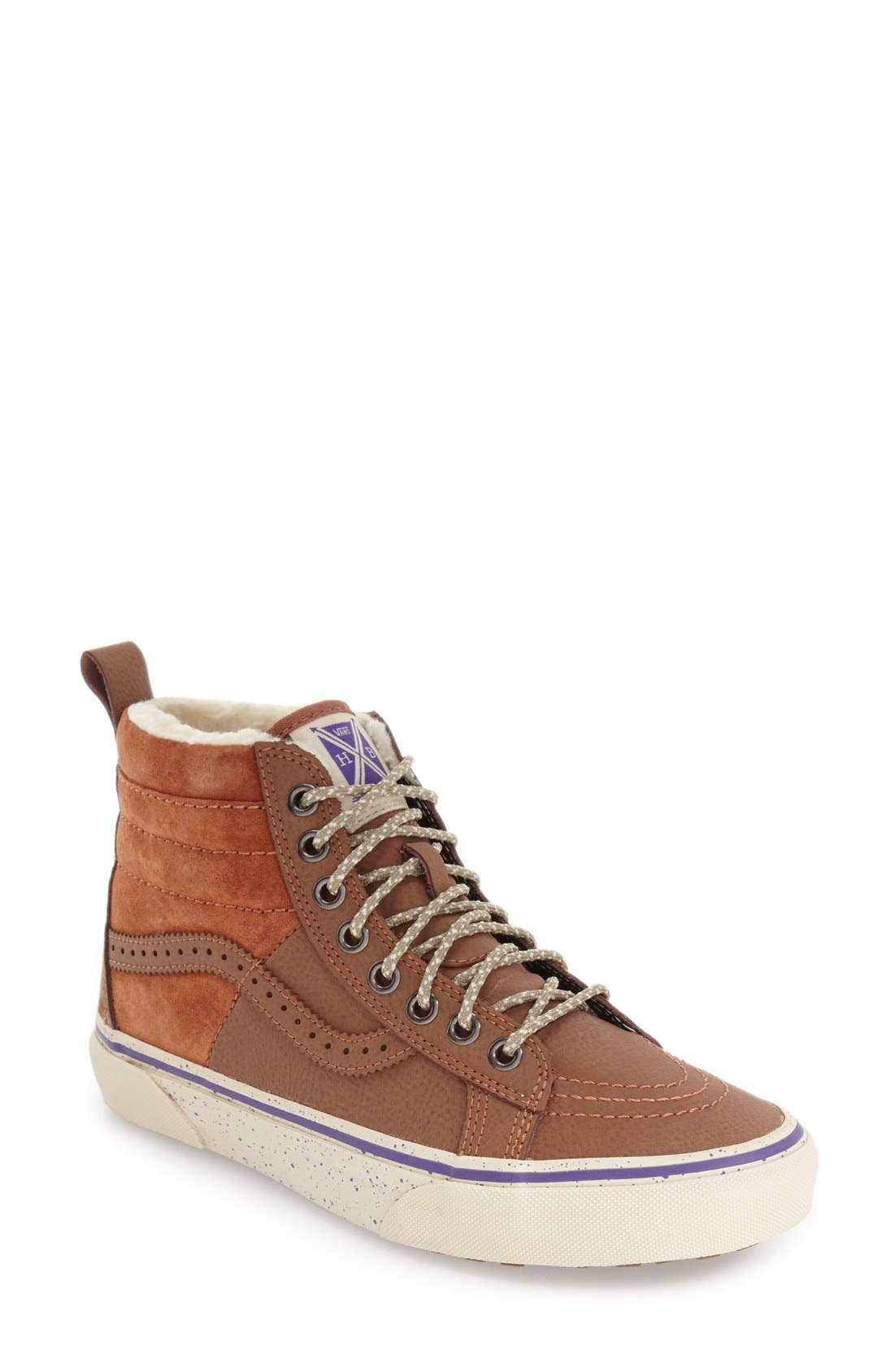 Alternate Image 1 Selected - Vans Hana Beaman – SK8-Hi 46 MTE Water Resistant Sneaker (Women)