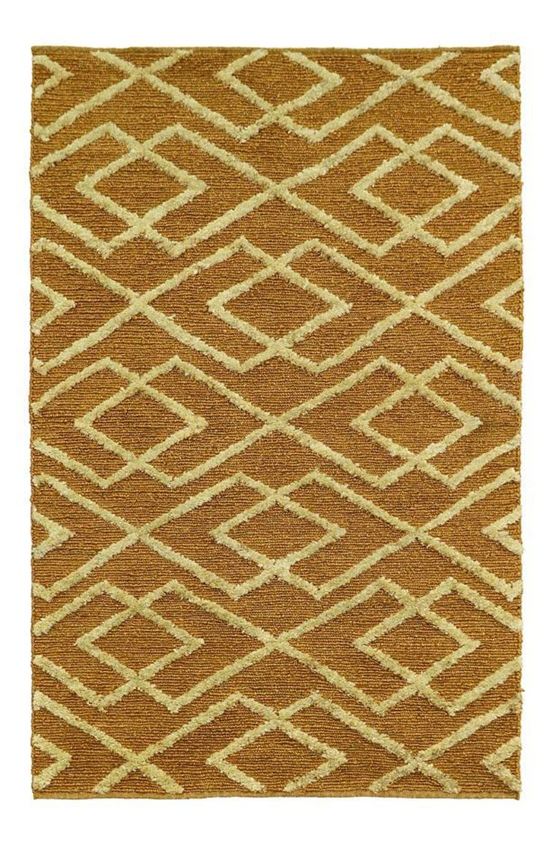 Villa Home Collection Soumak Aura Handwoven Rug
