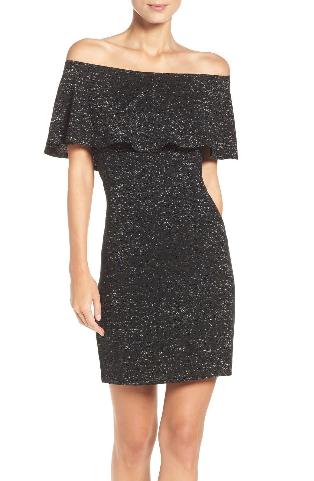 Alternate Image 1 Selected - trina Trina Turk Off the Shoulder Dress