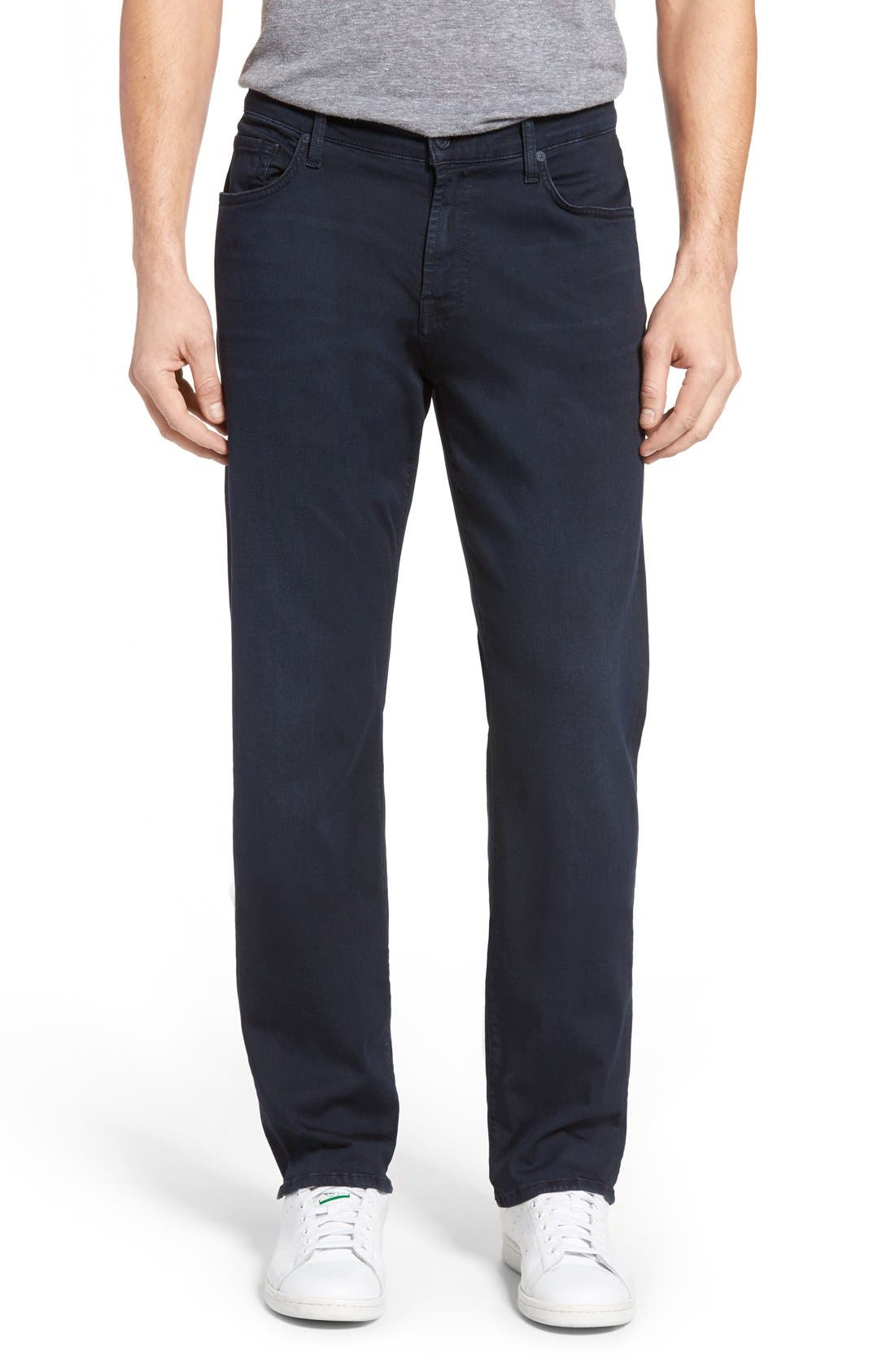7 For All Mankind® Luxe Performance Sport Straight Leg Jeans (Virtue)