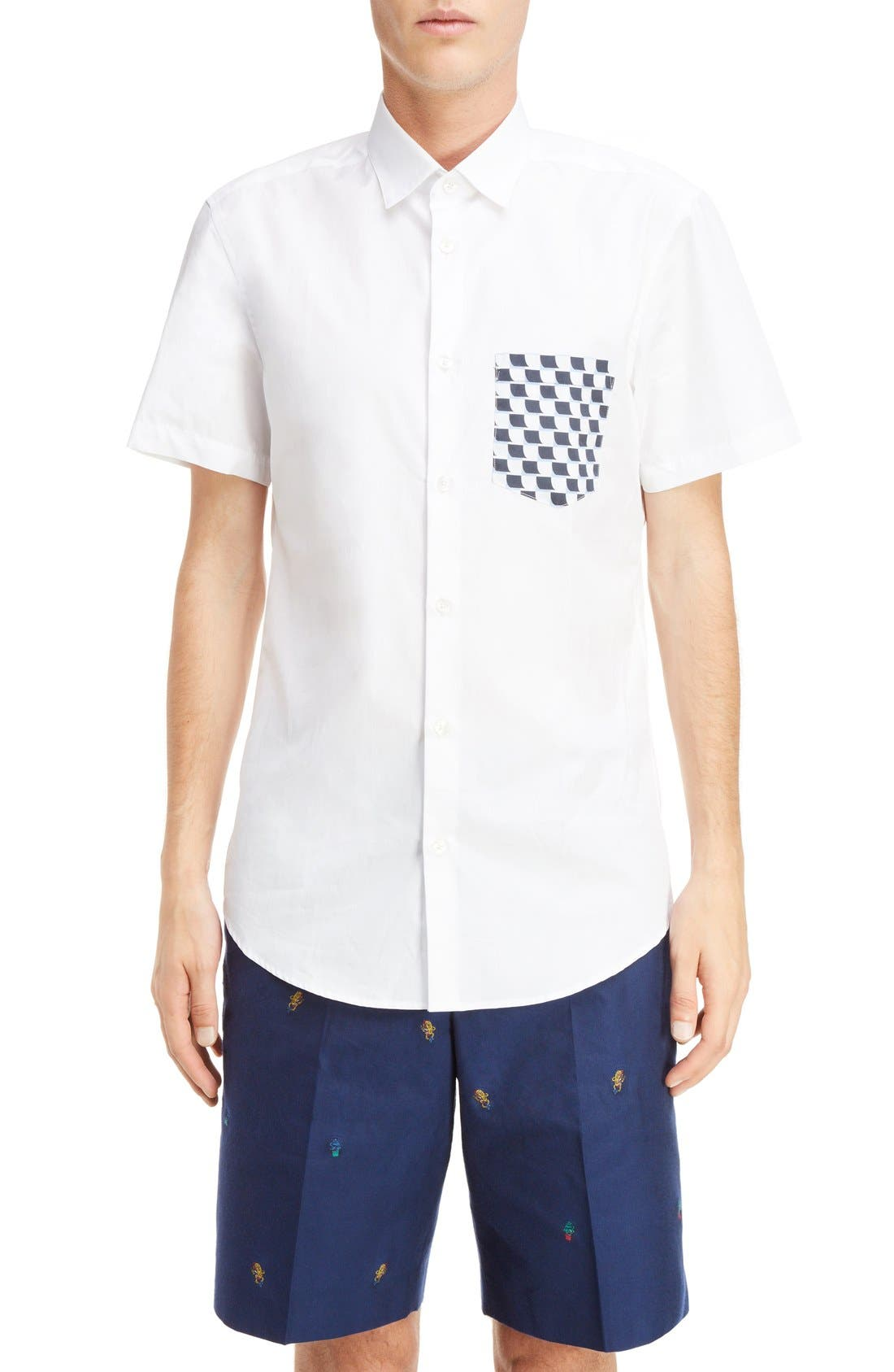 KENZO Short Sleeve Sport Shirt