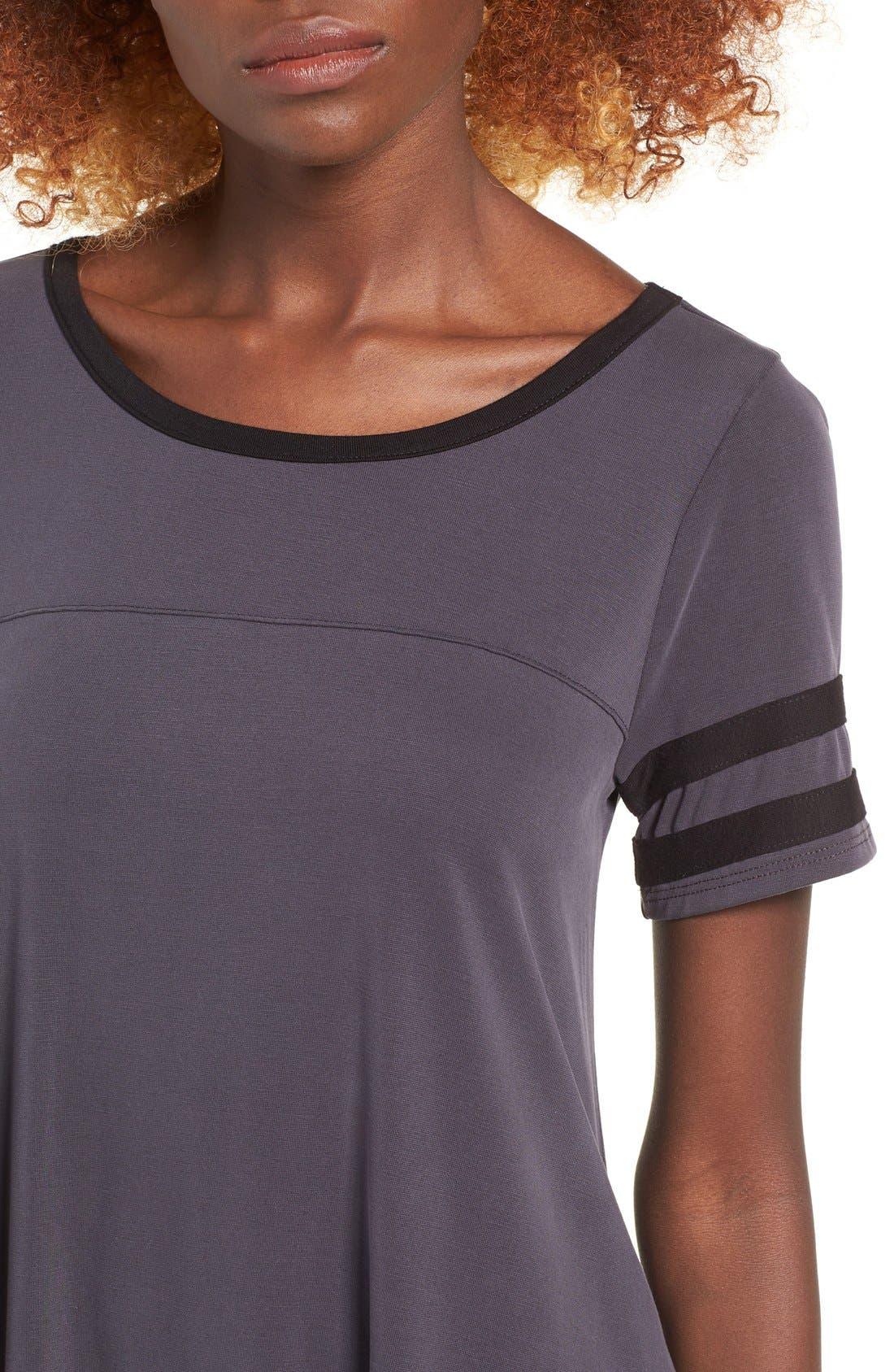 Alternate Image 5  - Socialite Varsity T-Shirt Dress