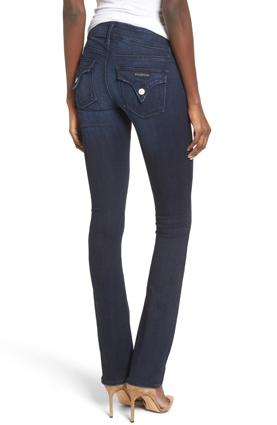 Alternate Image 2  - Hudson Jeans 'Beth' Baby Bootcut Jeans