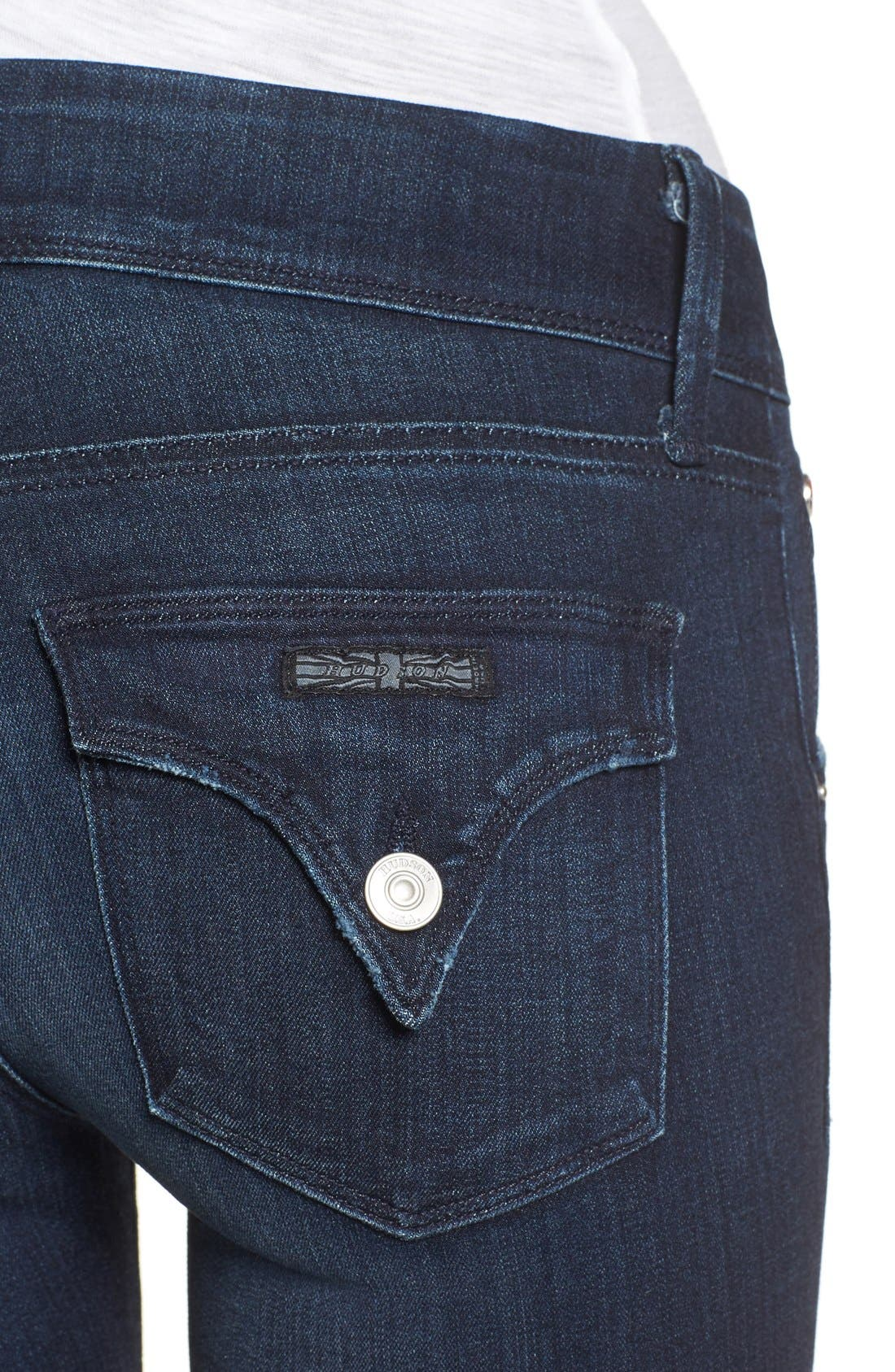 Alternate Image 4  - Hudson Jeans 'Beth' Baby Bootcut Jeans