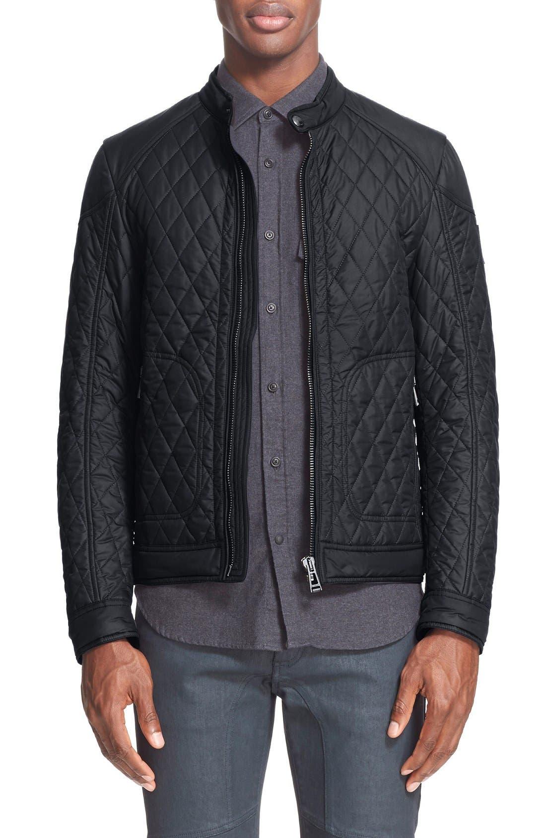 BELSTAFF Bramley Quilted Moto Jacket