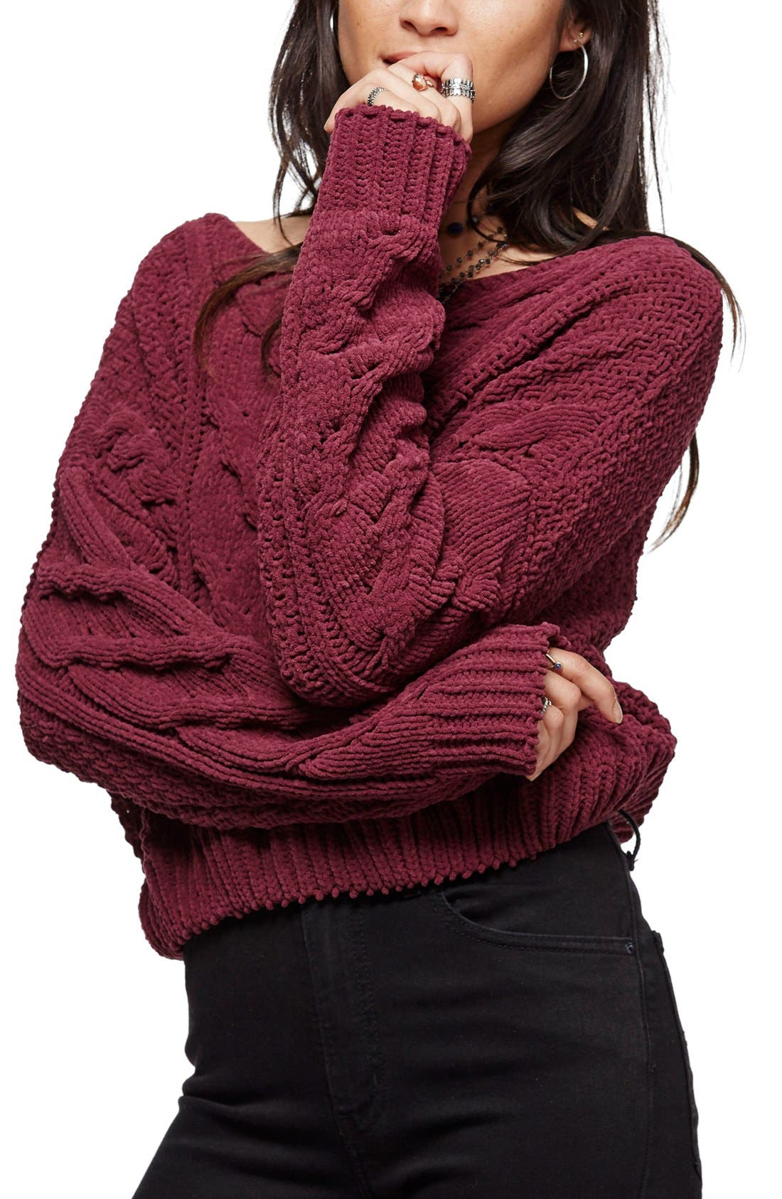 Alternate Image 1 Selected - Free People Sticks and Stones Sweater