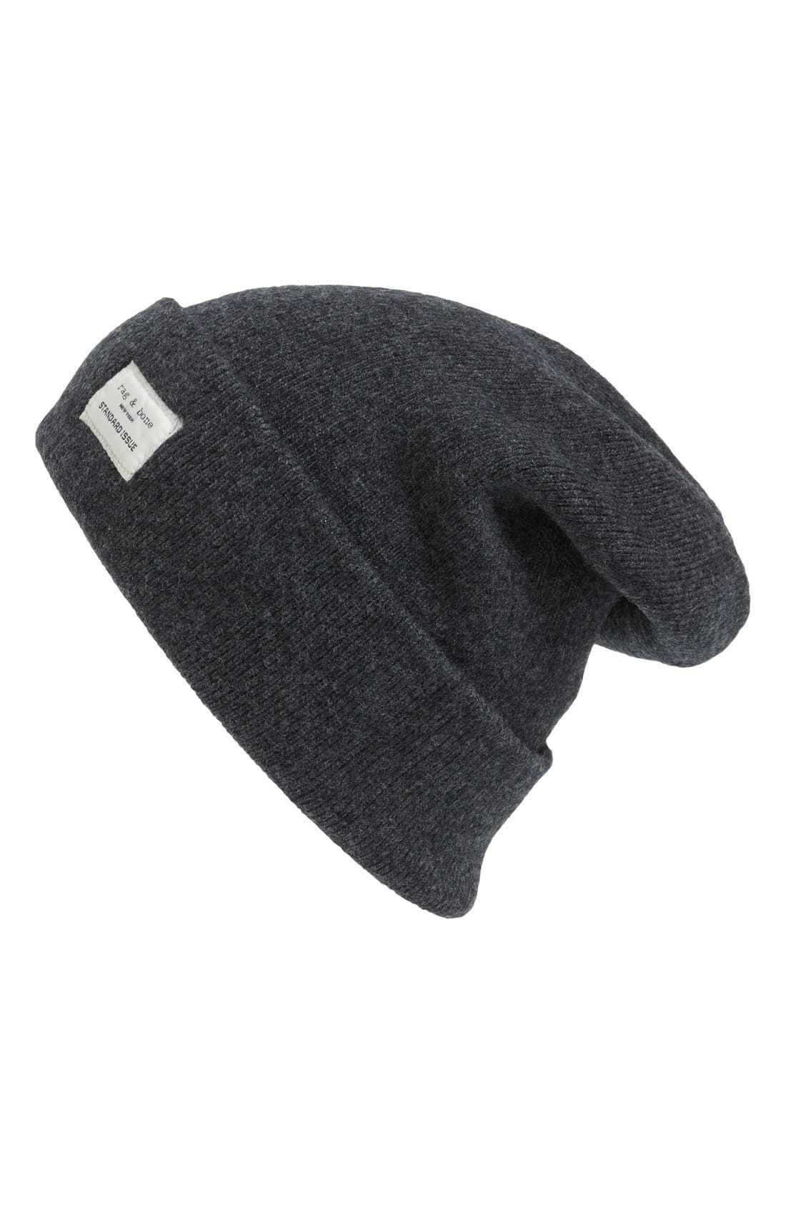 rag & bone Standard Issue Stretch Wool Beanie